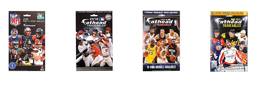 <i>Exclusive Distributor of Fathead Tradeables and Teammates</i>