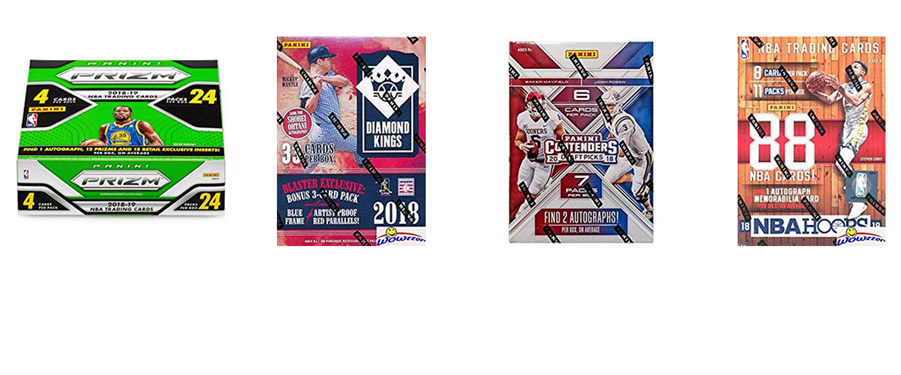 <i>Authorized Retail Distributor of Panini America Trading Cards</i>
