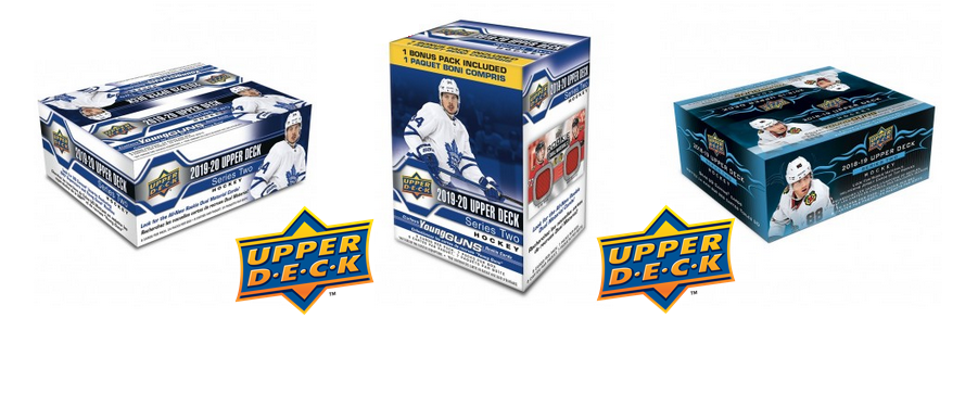 <i>Authorized Retail Distributor of Upper Deck Trading Cards</i>