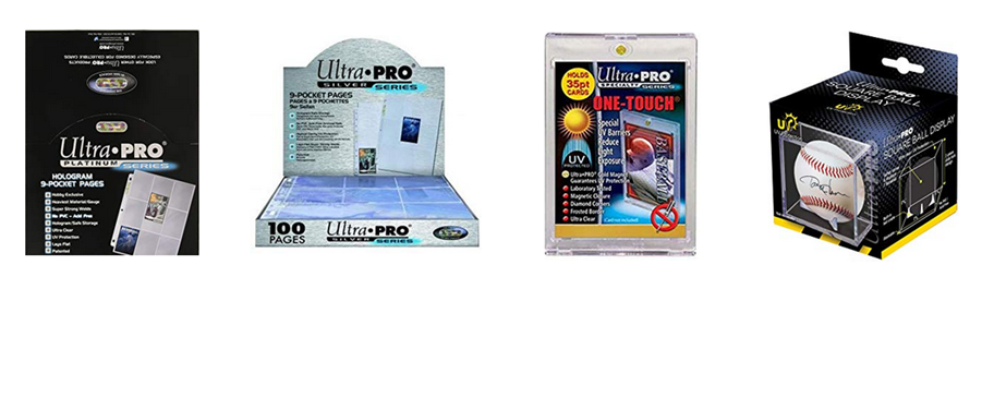 <i>Authorized Distributor for Ultra PRO International</i>
